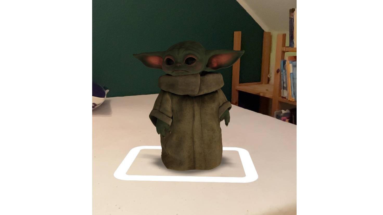 Bébé Yoda AR