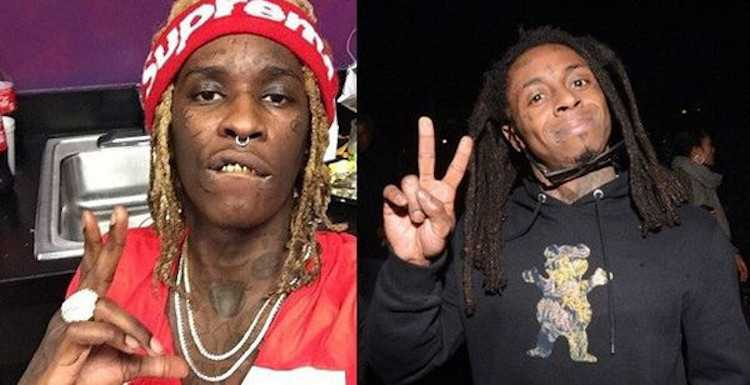 Young Thug Says Lil Wayne Disrespected Him When They Met.1609120044.jpg