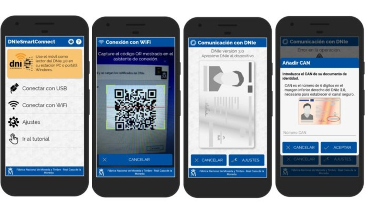 Lisez DNI 3.0 avec le mobile