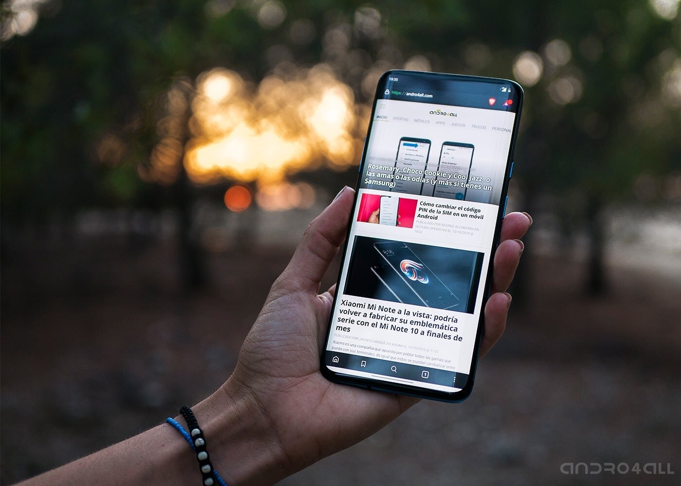 Andro4all sur le OnePlus 7T Pro