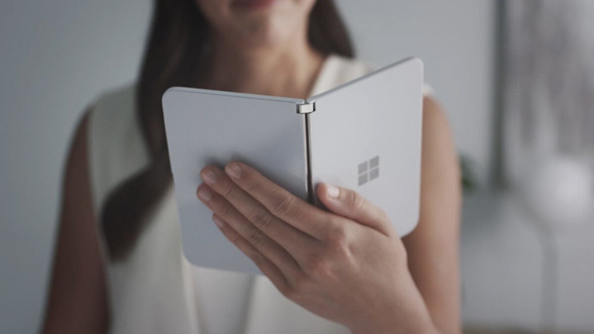 Microsoft Surface Duo, photo officielle