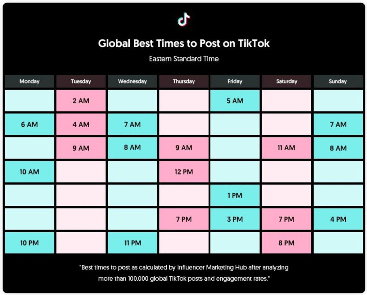 Les meilleurs hashtags TikTok pour rendre vos vidéos plus vues