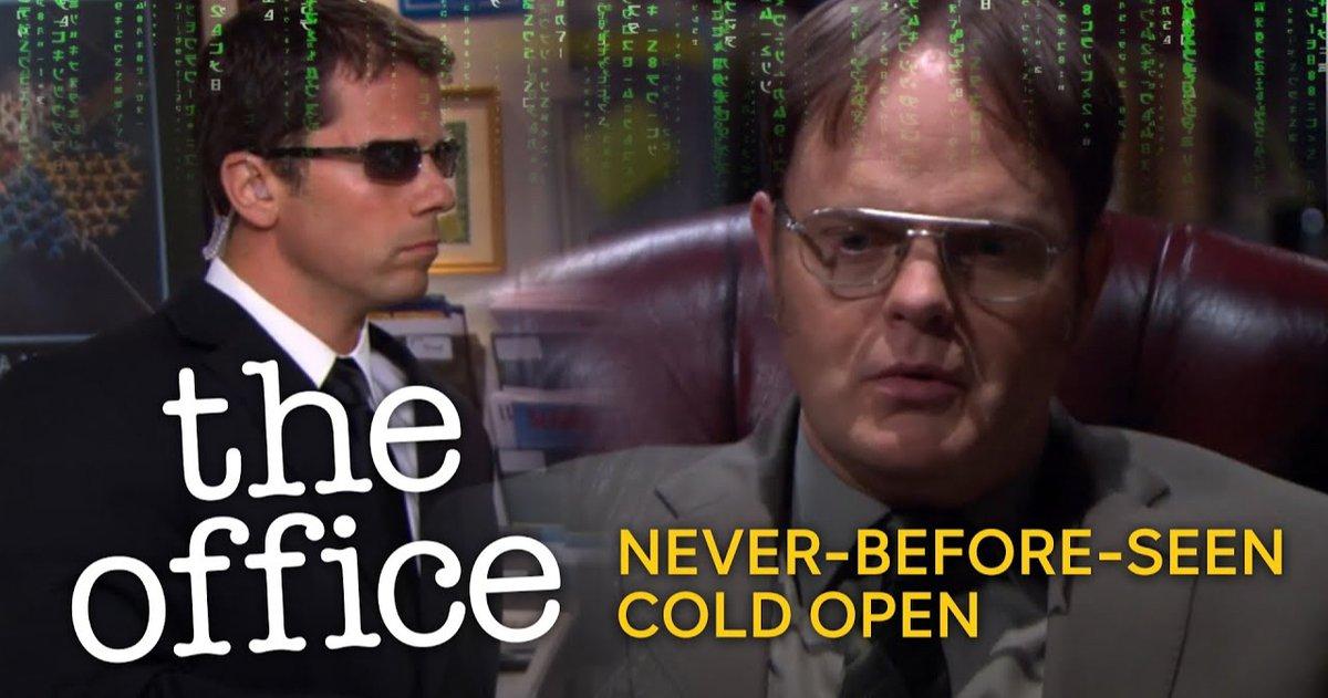Le Bureau Amène Dwight Dans La Matrice Dans Une Ouverture