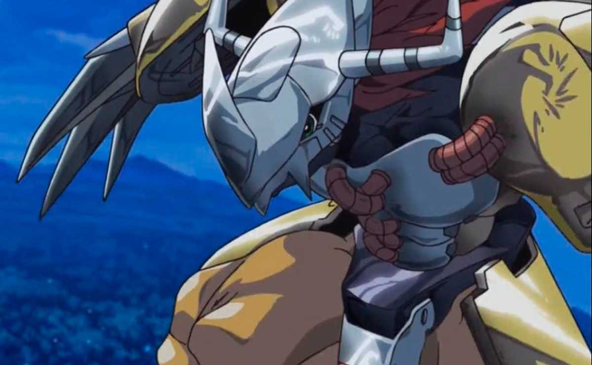 Digimon Adventure Reboot montre WarGreymon en action