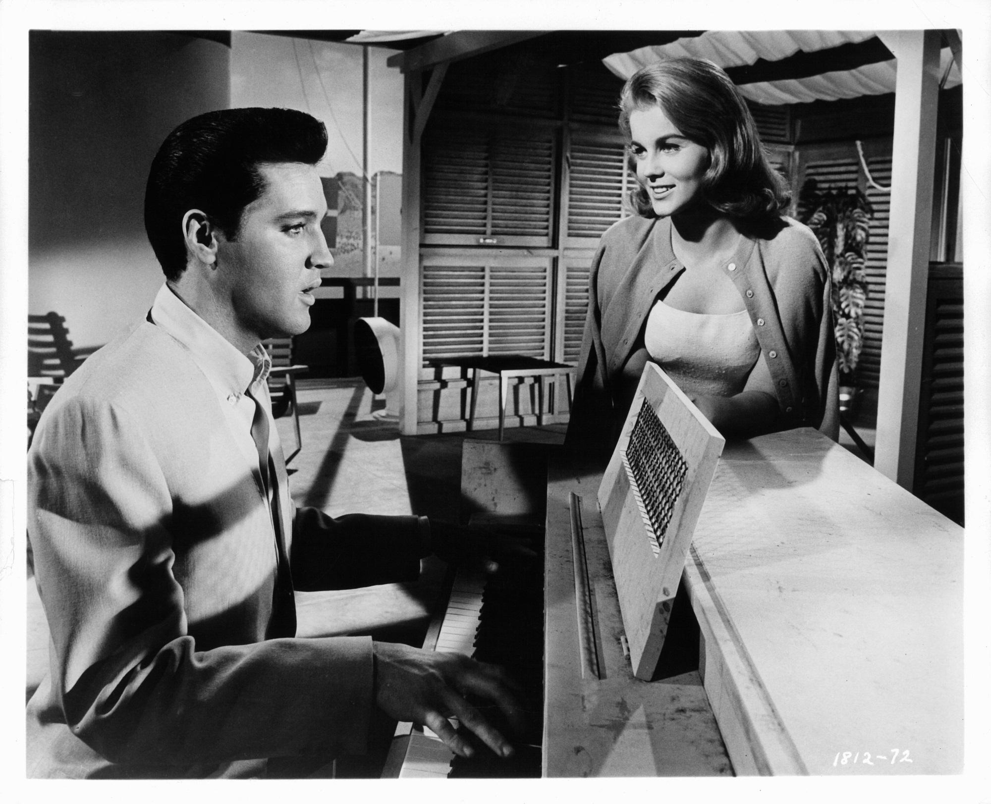 Elvis Presley et Ann-Margret dans 'Viva Las Vegas'