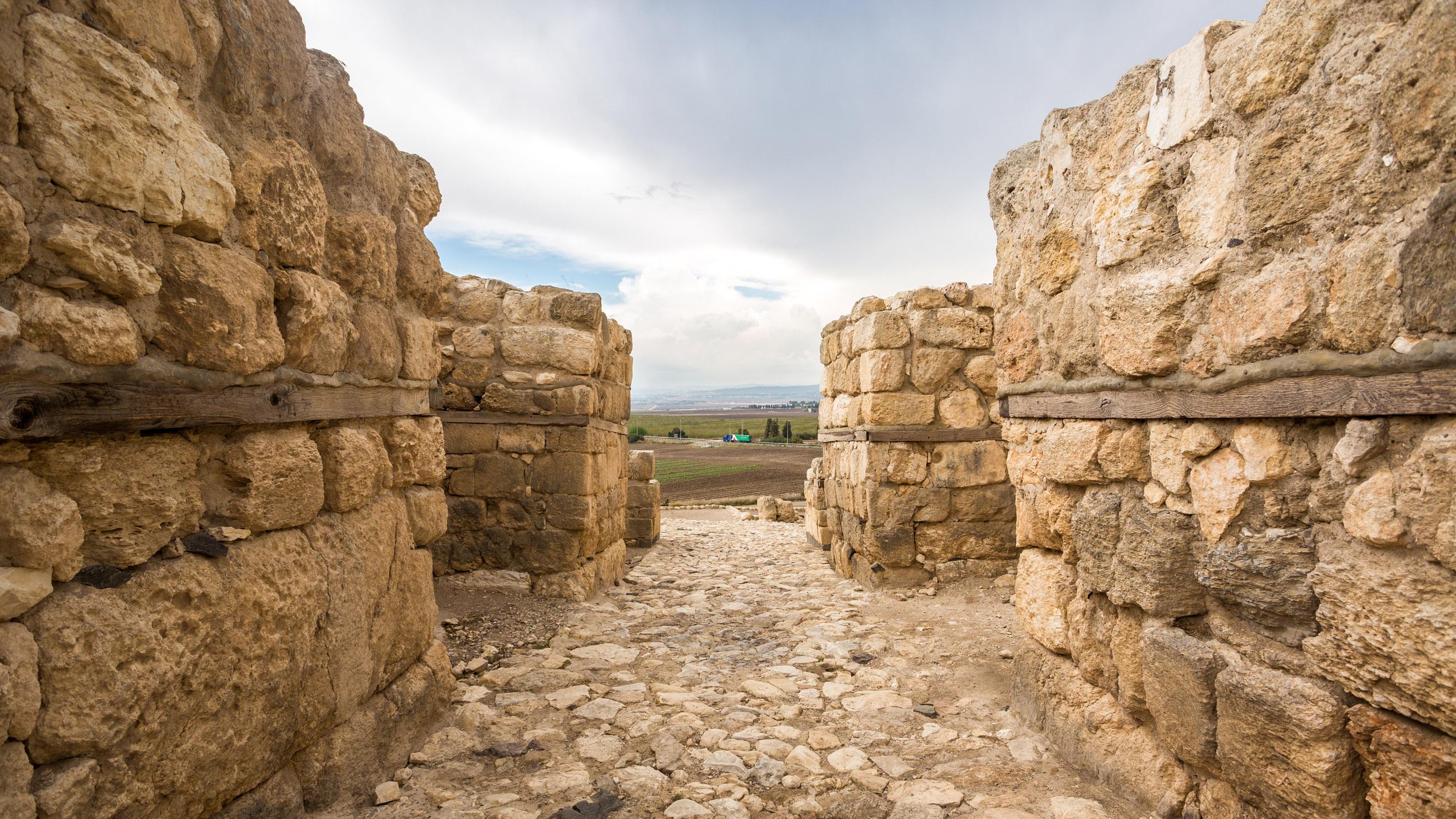 Megiddo, vu ici, était l'un des nombreux sites archéologiques où les fouilles ont été suspendues ou réduites en 2020.