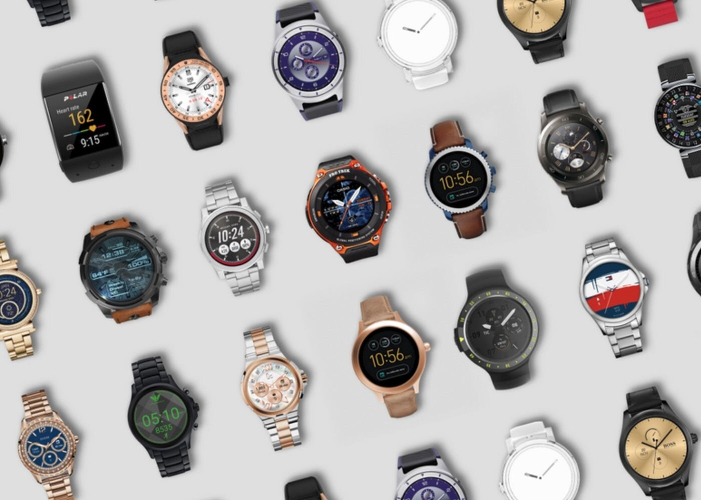 Porter des montres OS 2018