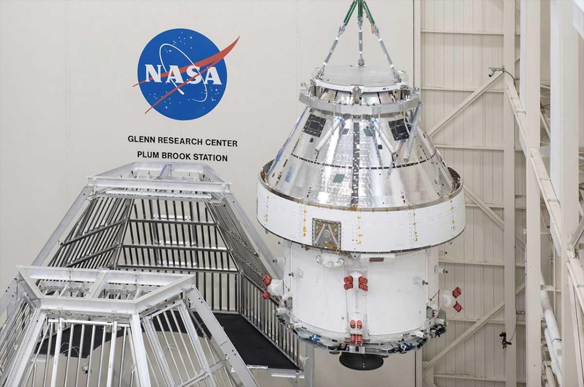 L'installation D'essai De La Nasa Plum Brook Renommée Pour L'astronaute