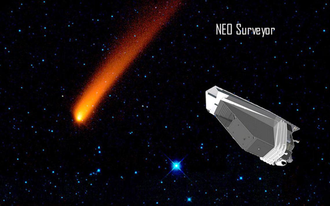 Le vaisseau spatial NEO Surveyor proposé par la NASA.