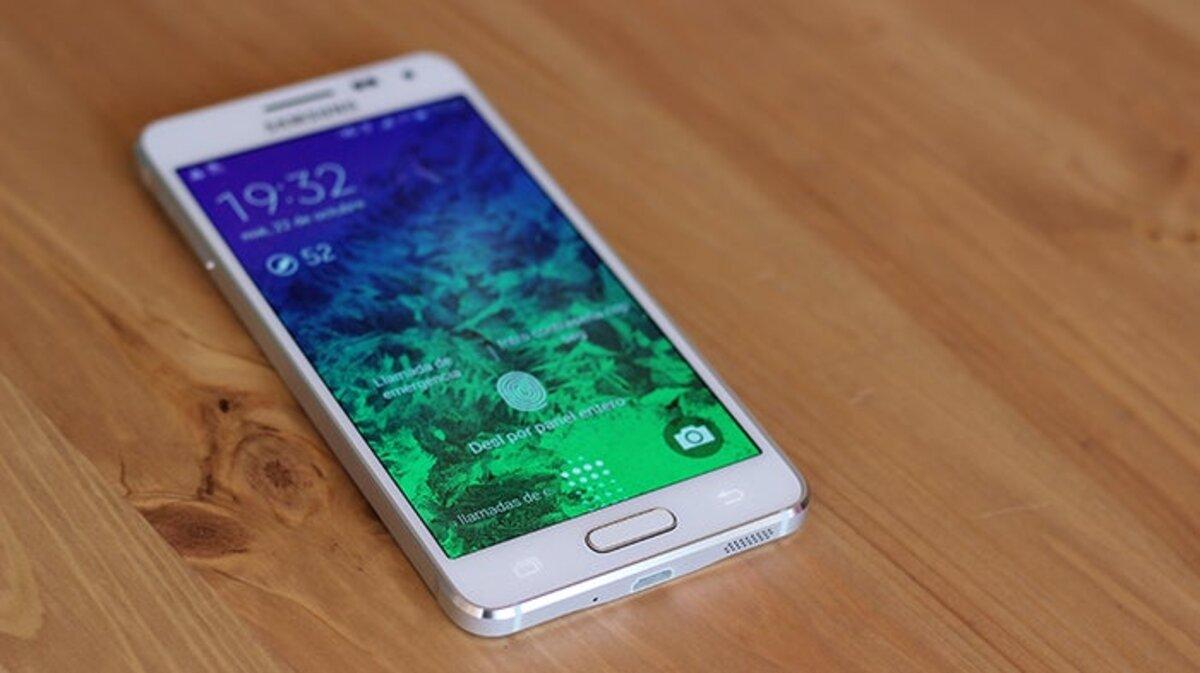 Écran de verrouillage Samsung Galaxy Alpha