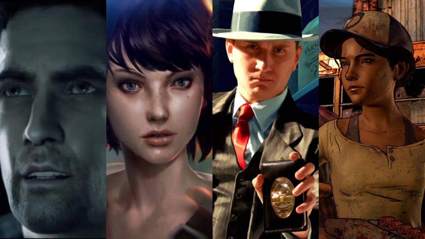 """De """"Alan Wake"""" à """"Telltale's The Walking Dead"""": Il existe de nombreux jeux avec des histoires captivantes - également pour PC et Xbox One!"""