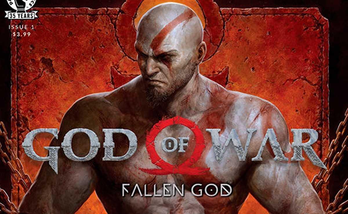 """God of War"" prequel comic: ""Fallen God"" arrive en mars"
