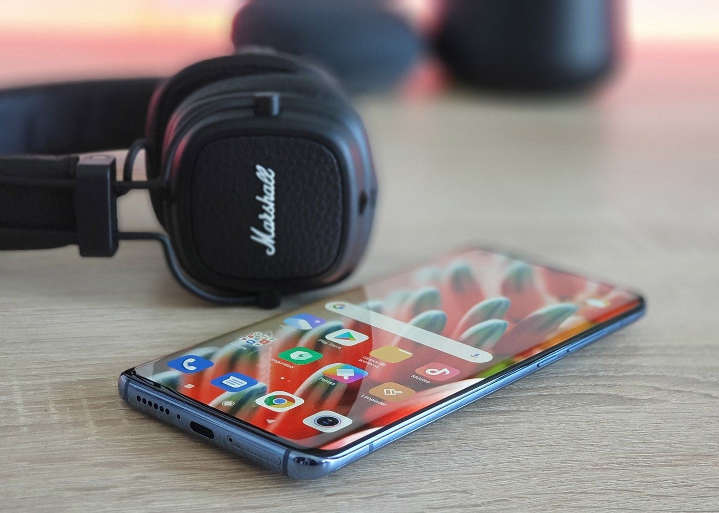 Écouteurs Bluetooth Xiaomi Mi 10 et Marshall Major 3