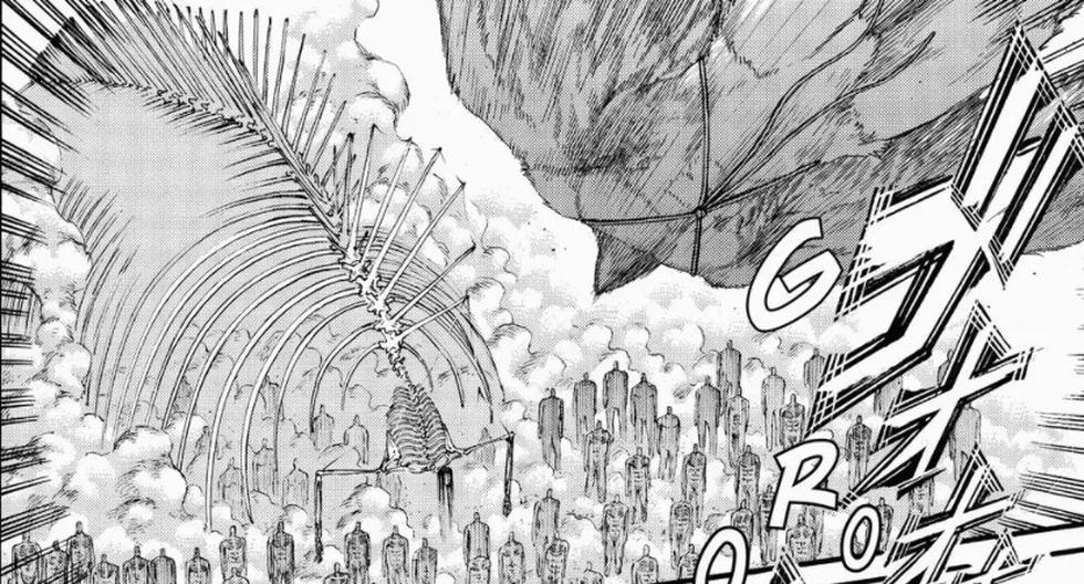"""""""Shingeki no Kyojin"""" 136: Eren contre le monde et tout ce qui s'est passé dans le chapitre 136 de """"Attack on Titan"""""""