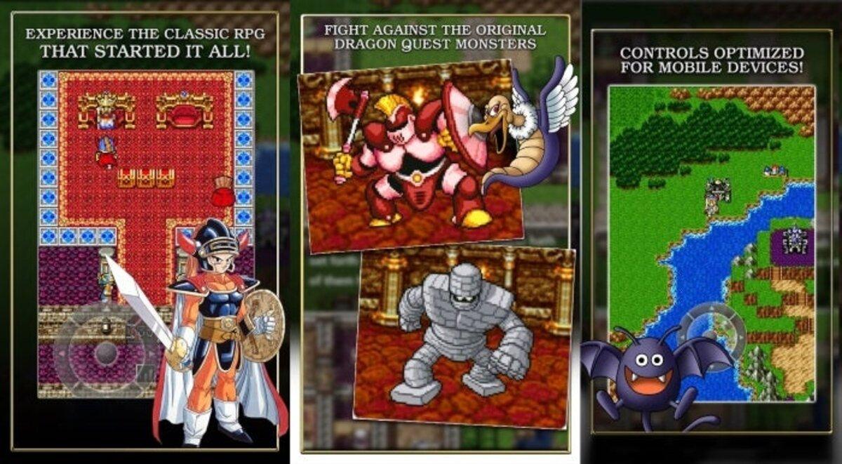 Capture d'écran de Dragon Quest