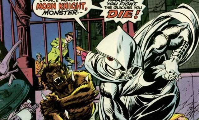 Premières apparitions de Moon Knight dans les bandes dessinées (Photo: Marvel)