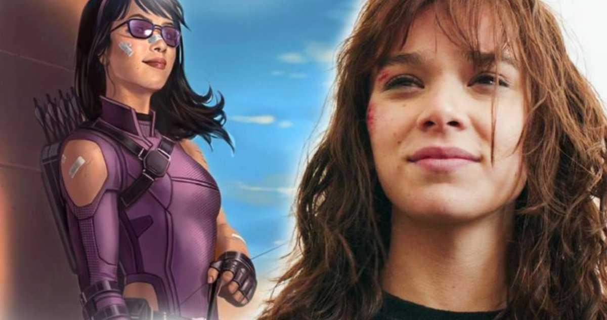 Hawkeye Star Hailee Steinfeld Brise Le Silence En Devenant Kate
