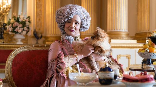 "Queen Charlotte dans ""Bridgerton"" (Photo: Netflix)"