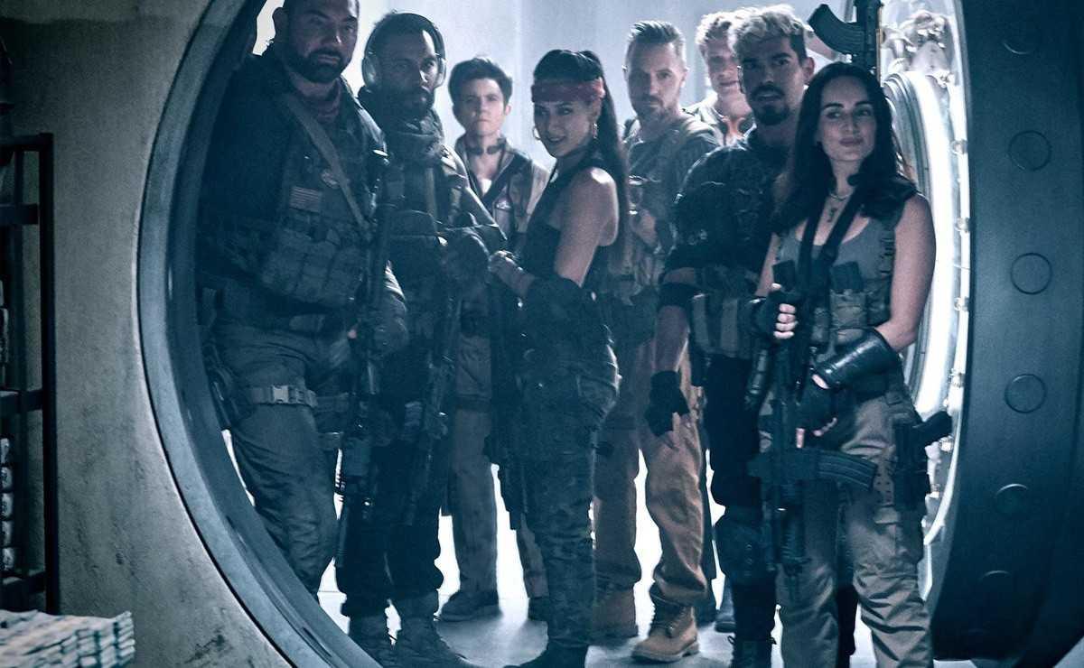 Ils partagent les premières images de `` Army of the Dead '' de Zack Snyder