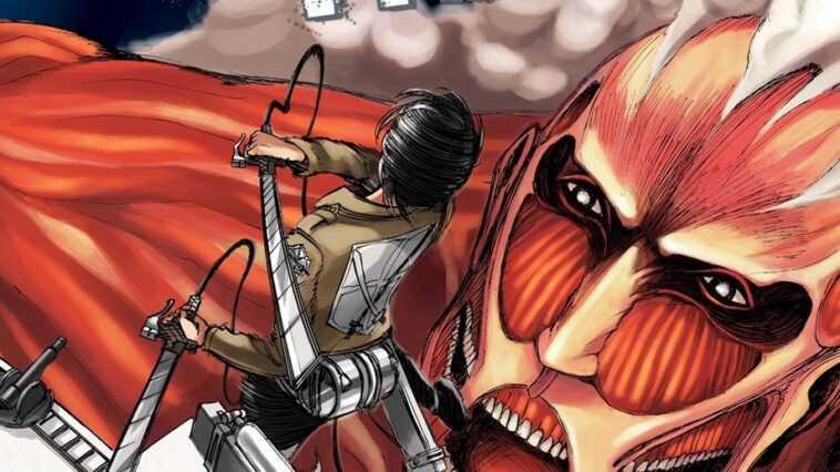 Attack on Titan 136 VF: Bessatsu Shōnen fait allusion au scénario, à la dernière guerre des Titans au chapitre 137