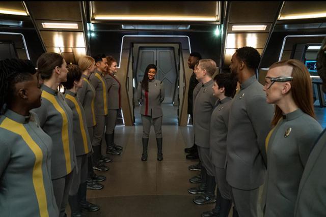 Michael Burnham est devenu le nouveau capitaine de Discovery (Photo: CBS All Access)