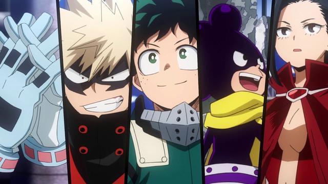 """La cinquième saison de """"My Hero Academia"""" se concentrera sur la formation des étudiants (Photo: Crunchyroll)"""