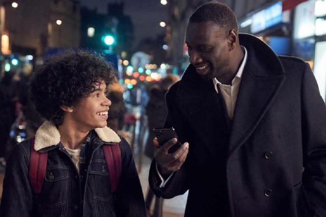 """Assane Diop retrouvera-t-elle son fils dans la deuxième partie de """"Lupin""""?  (Photo: Netflix)"""