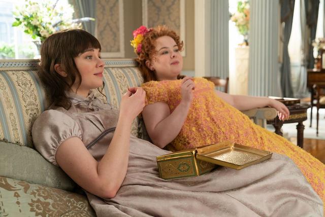 Lady Whistledown était Penelope, la meilleure amie d'Eloise (Photo: Netflix)