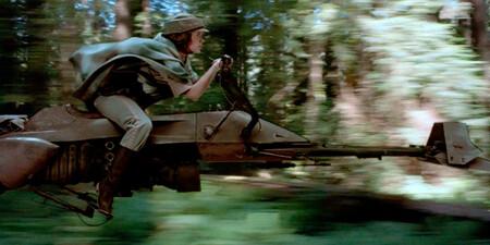 Retourdujedi Leia Speederbike