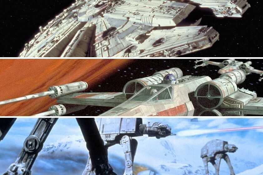 Du Millennium Falcon aux Star Destroyers: ce sont les 11 navires et véhicules avec les meilleurs designs de 'Star Wars'
