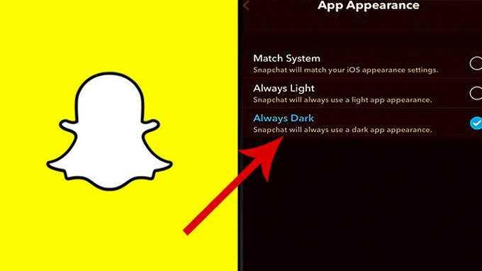 Voici Comment Mettre Snapchat En Mode Sombre