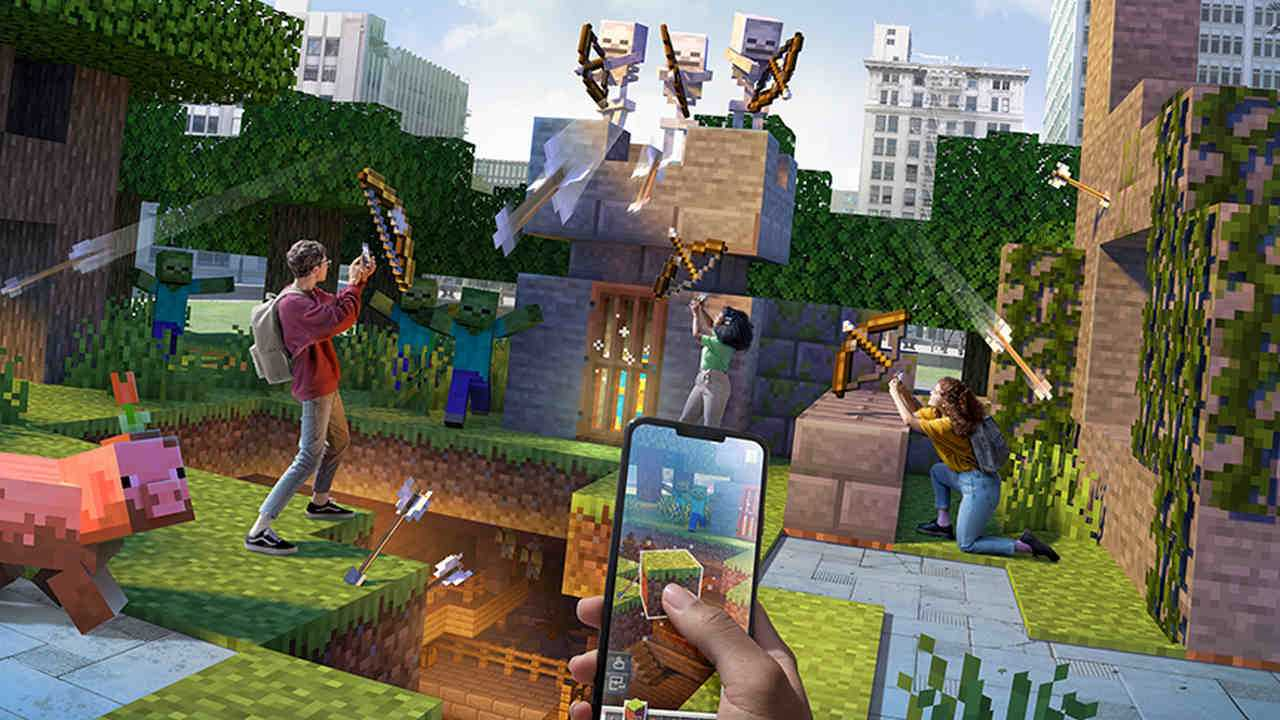 Minecraft Earth Fermera En Juin 2021 Alors Que La Situation