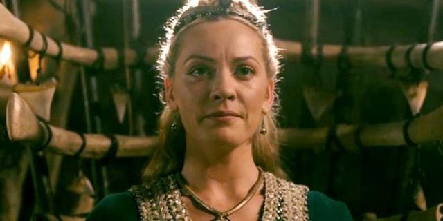 """Ingrid est devenue la reine de Kattegat à la fin de """"Vikings"""" (Photo: Histoire)"""