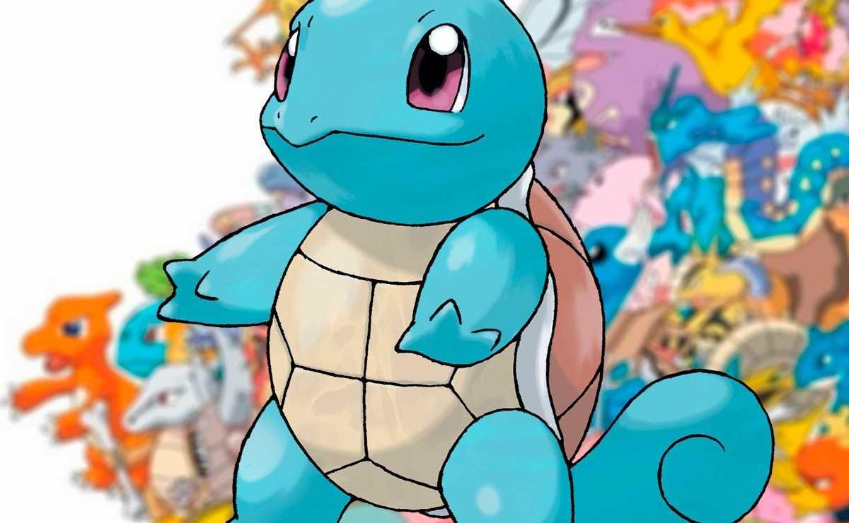 L'artiste crée des variantes de Pokémon en forme de Squirtle