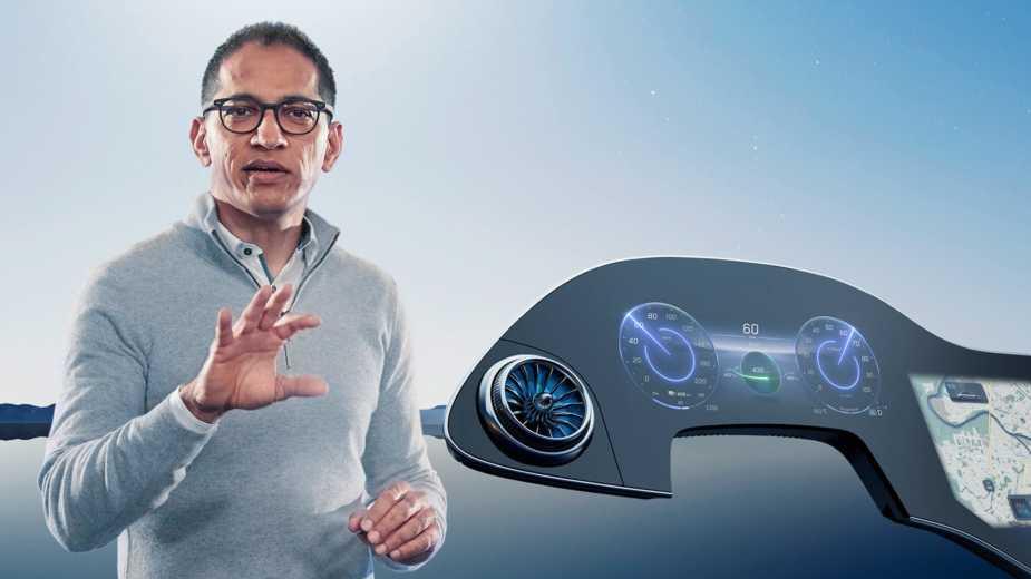 Directeur Technique De Daimler Sur Mbux Hyperscreen: «nous Avons Réinventé