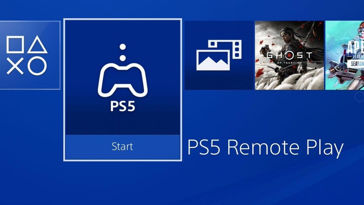 Jeux PS5 à distance PS5