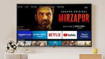 Batteries, sacs à dos et maintenant même téléviseurs: Amazon vend déjà ses propres téléviseurs intelligents en Inde, et c'est logique