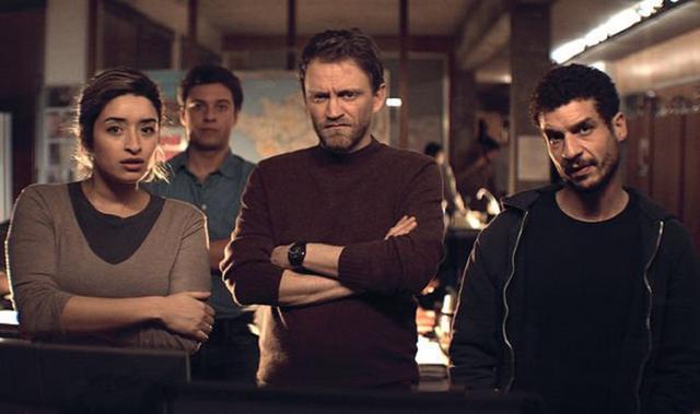"""Vincent Londez joue le capitaine Romain Laugier dans """"Lupin"""" (Photo: Netflix)"""