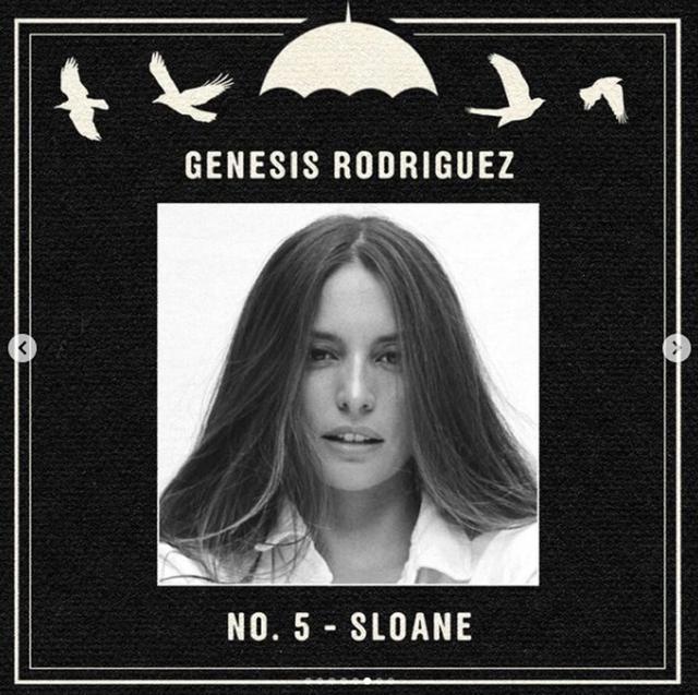 "Genesis Rodriguez jouera Sloane dans ""The Umbrella Academy 3"" (Photo: Netflix)"
