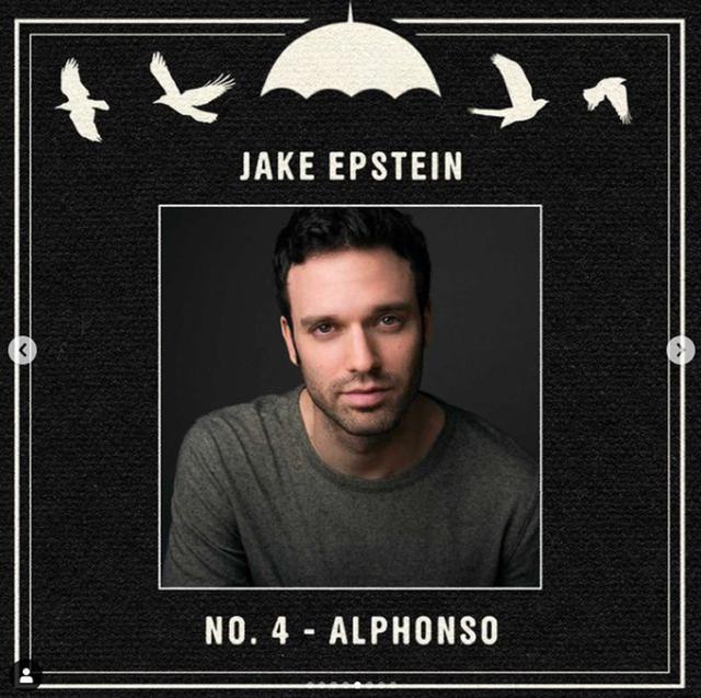 "Jake Epstein jouera Alphonso dans ""The Umbrella Academy 3"" (Photo: Netflix)"