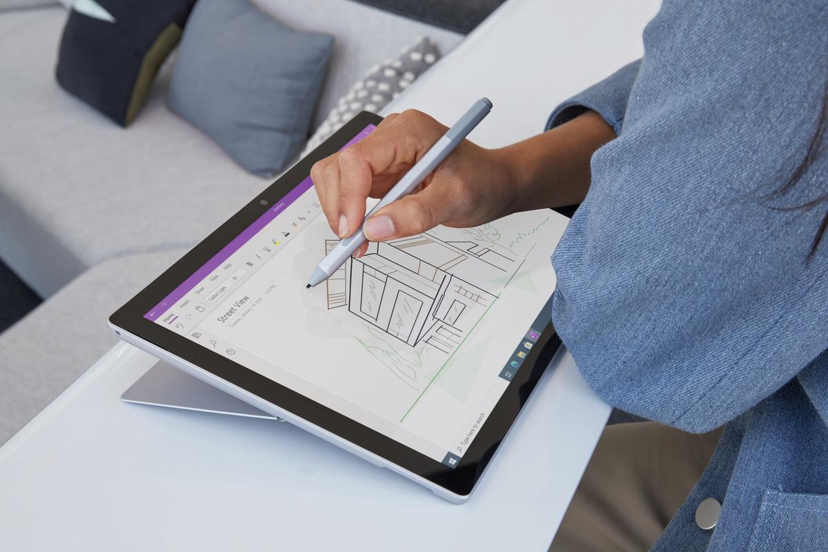 Dessin Microsoft Surface Pro 7+
