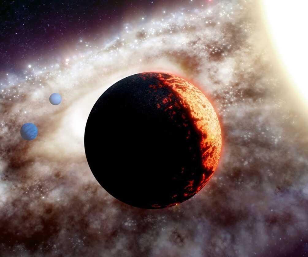 Une Planète Rocheuse `` Super Terre '' Aperçue En Orbite Autour