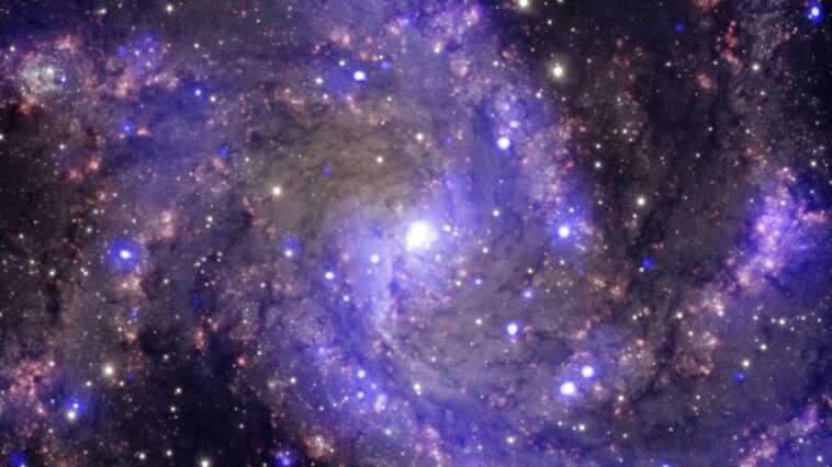 La Nasa Partage L'image Hubble De L'éblouissante `` Galaxie Des