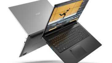 Acer Nitro 5, Aspire 5 et 7: ces ordinateurs portables sont équipés des dernières versions d'AMD et de NVIDIA;  Processeurs Ryzen 5000 et GPU GeForce RTX 30