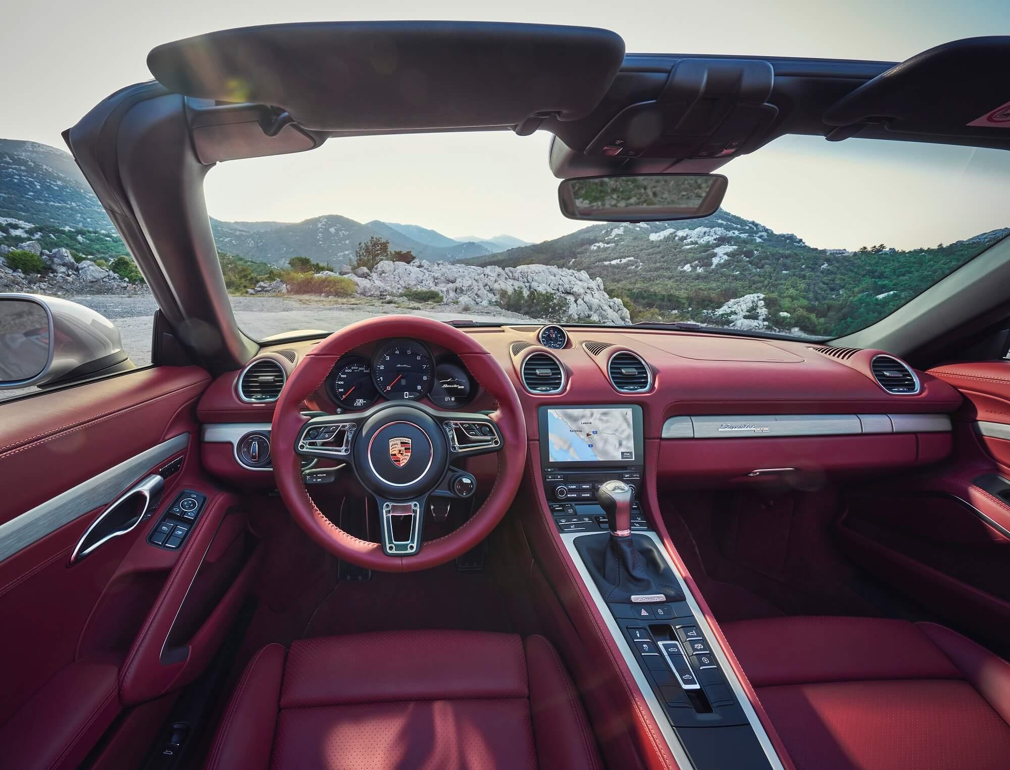 Porsche Boxster Edition 25 ans — Série limitée