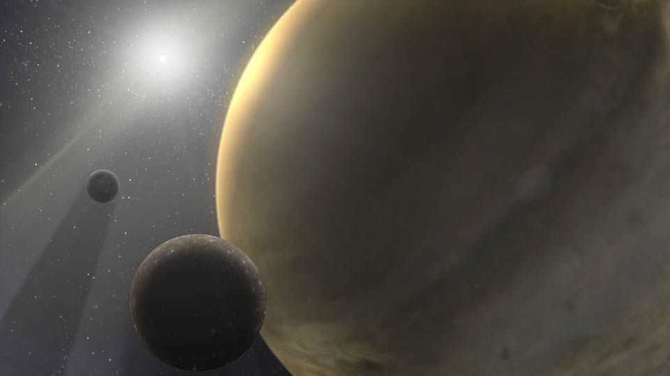 Une Exoplanète Géante Gazeuse Avec Une Orbite étrangement Longue Peut