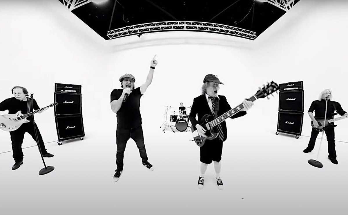 Regardez la nouvelle vidéo d'AC / DC pour 'Realize'