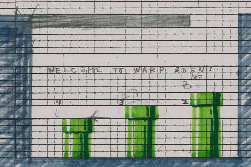 Les débuts analogiques de `` Super Mario Bros '': quand les jeux vidéo étaient dessinés pixel par pixel sur papier millimétré