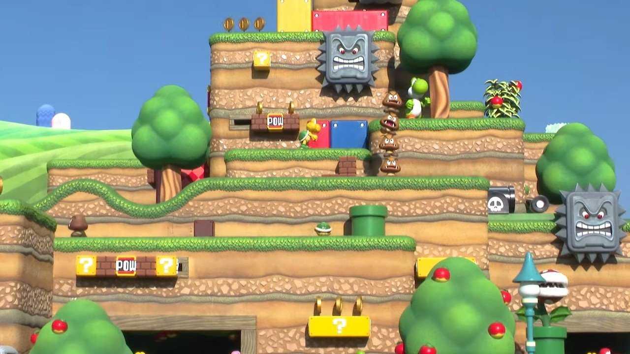 L'ouverture de Super Nintendo World a été retardée grâce au COVID-19, nouvelle date actuellement non confirmée