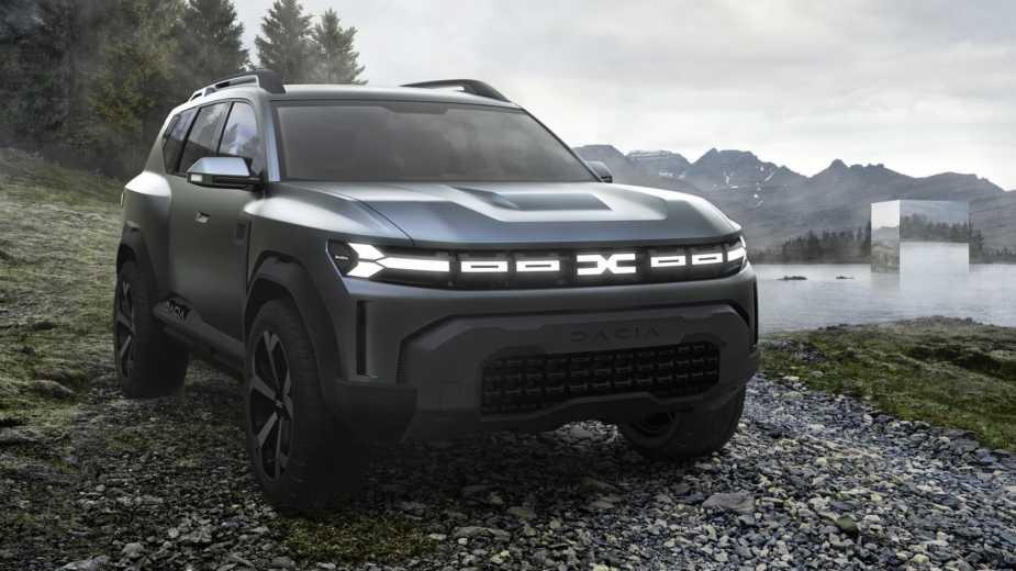 Bigster Concept Anticipe L'entrée De Dacia Dans Le Segment C